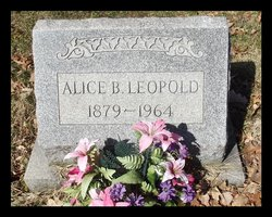 Alice B <i>McGinnity</i> Leopold
