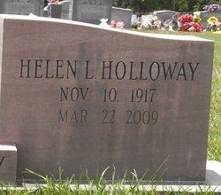 Helen L. <i>Gooden Holloway</i> Cagle