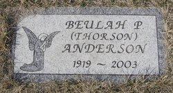 Beulah Pearl <i>Thorson</i> Anderson