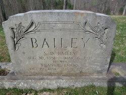 Frances Lucinda Frankie <i>Evans</i> Bailey