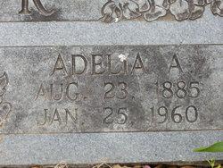 Adelia A <i>Burris</i> Cooper