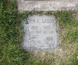 John Raymond Saxon