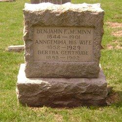 Benjamin F McMinn