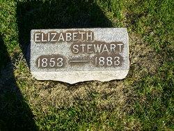 Elizabeth Lizzie <i>Henthorn</i> Stewart