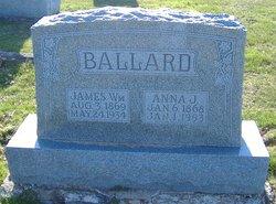 Anna Jane Annie <i>Gray</i> Ballard