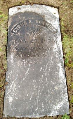Cyrus E. Dimmick