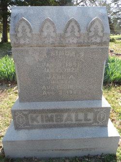 Jane Adeline <i>Tanquary</i> Kimball
