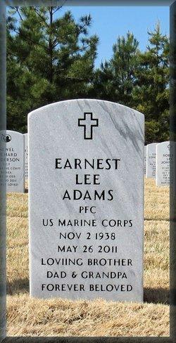 PFC Earnest Lee Adams