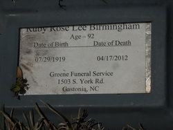 Ruby Rose <i>Lee</i> Birmingham