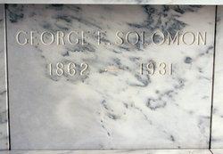 George Edward Solomon