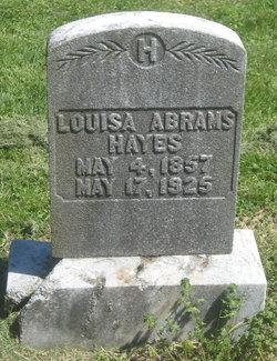 Louisa Abrams Hayes