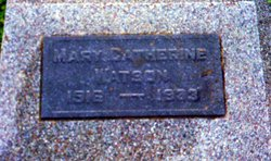 Mary Catherine Watson