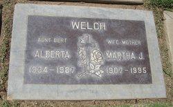 Martha Jane <i>Enos</i> Welch