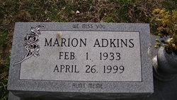 Marion Adkins
