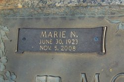 Bertie Marie Marie <i>Noble</i> Monroe