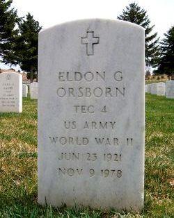 Eldon G Orsborn