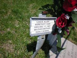 Lois Marie <i>Lukehart</i> Allen