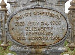 Heinrich Henry Achenbach
