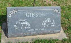 Virginia Jenny <i>Hall</i> Gibson