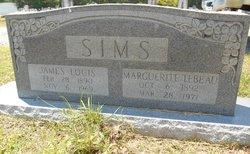 Marguerite <i>Tebeau</i> Sims