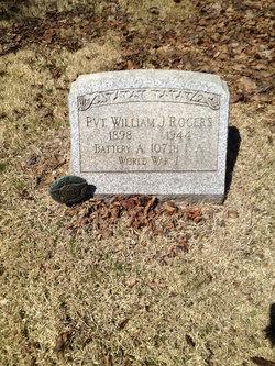 Pvt William James Rogers