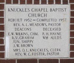 Knuckles Chapel Baptist Church Cemetery