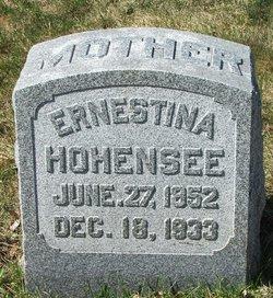 Ernestine <i>Rathke</i> Hohensee