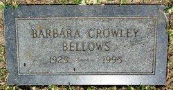 Barbara <i>Crowley</i> Bellows