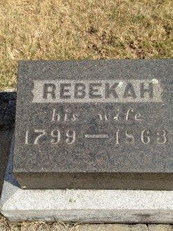 Rebekah <i>Kimball</i> Choate
