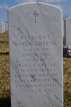 Barbara Lucille <i>Baker</i> Greene
