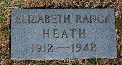 Elizabeth <i>Ranck</i> Heath
