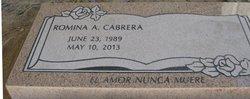 Romina A Cabrera