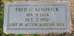 Fred G Kendrick
