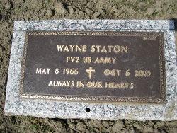 PFC Wayne Staton