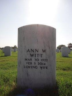 Ann W Witt