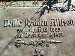 Bessie Morris Dollie <i>Redden</i> Allison