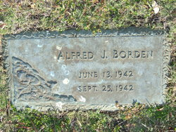 Alfred J Borden