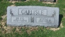 Dr P G Carlisle