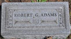 Robert G. Adams