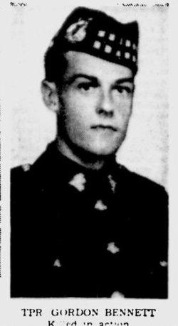 Trooper Gordon Bennett