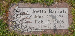 Joetta <i>Griffin</i> Badiali