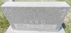 Anna M. <i>Reif</i> Lang