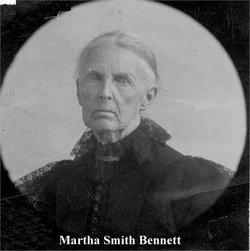 Martha <i>Smith</i> Bennett