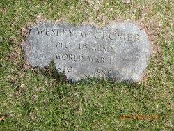 Wesley Wallace Crosier