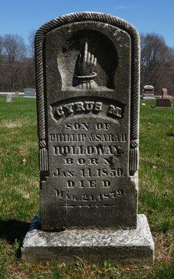 Cyrus M. Holloway