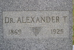 Dr Alexander T Stewart