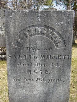 Elizabeth <i>Andreas</i> Willett