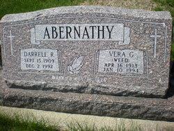 Vera G. <i>Weed</i> Abernathy