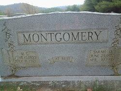 Sarah Victoria <i>Quesenberry</i> Montgomery