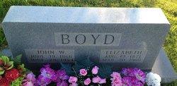 Elizabeth Hannah <i>Rodgers</i> Boyd